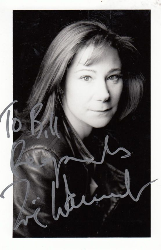 Zoe Wanamaker Stunning Hand Signed Photo